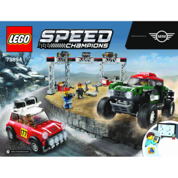 Notice / Instruction Lego Speed Champions 75894