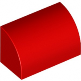 LEGO 6252037 1/2 DOME 1X2 - ROUGE