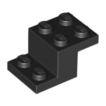 LEGO 6253144 BRIQUE PLATE 2X3X1 1/3 - NOIR
