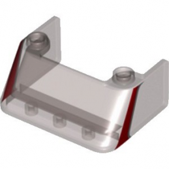 LEGO 6256908 PARE BRISE 3X4X1 1/3 - NOIR TRANSPARENT IMPRIME ROUGE lego-6256908-pare-brise-3x4x1-13-marron-transparent-imprime-rouge ici :