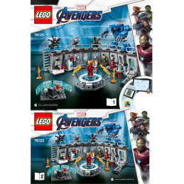 Notice / Instruction Lego Super Heroes 76125