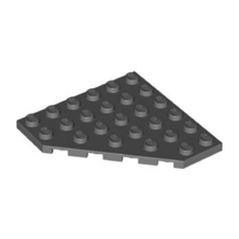 LEGO 6262023 CORNER PLATE 6X6X45° - DARK STONE GREY