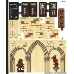 Stickers / Autocollant Lego Harry Potter 75948 stickers-autocollant-lego-harry-potter-75948 ici :