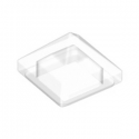 LEGO 6252962 TUILE PYRAMIDE 1X1X2/3  - TRANSPARENT