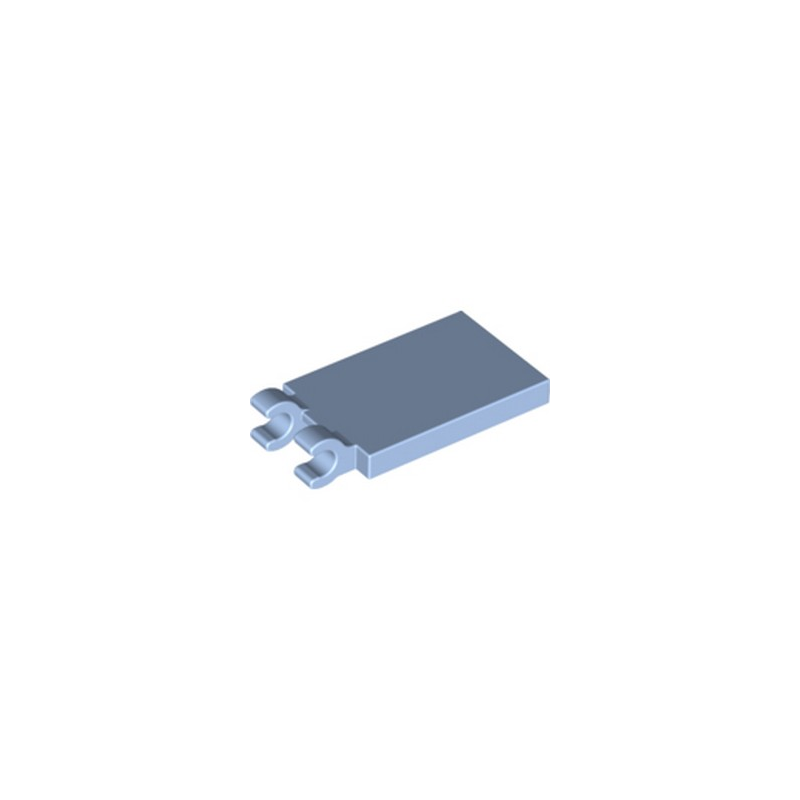 LEGO 6212083 PLATE 2X3 W. HOLDER - LIGHT ROYAL BLUE