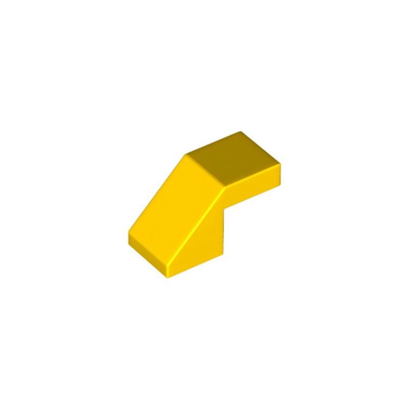 LEGO 6228597 TUILE 1X2 45° - JAUNE