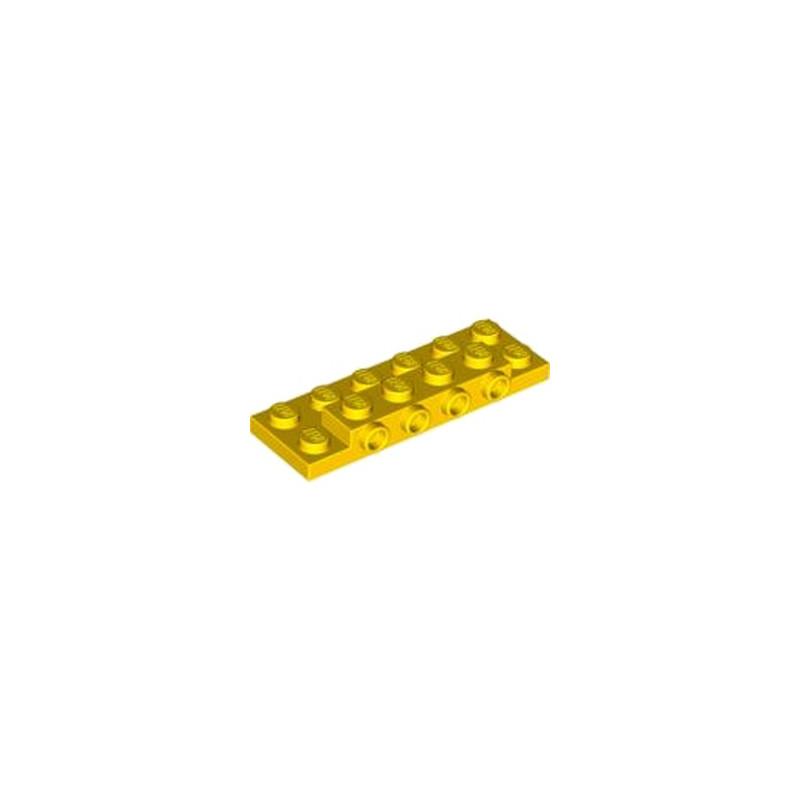 LEGO  4567996 PLATE 2X6X23 W 4 HOR. KNOB - JAUNE
