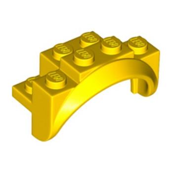 LEGO 6252538 GARDE BOUE 2X4X2 - JAUNE