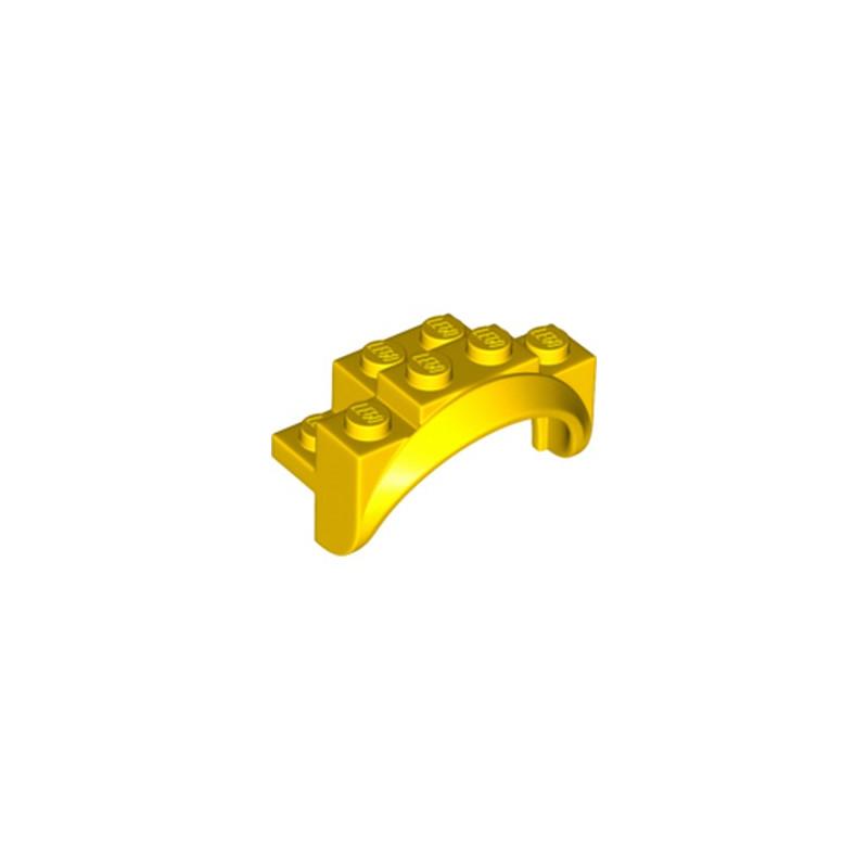 LEGO 6252538 GARDE BOUE 2X4X2 1/3 - JAUNE
