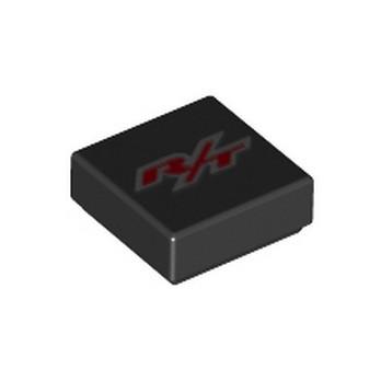 LEGO 6256883 LISSE IMPRIME 1X1 - NOIR/ROUGE lego-6256883-lisse-imprime-1x1-noirrouge ici :