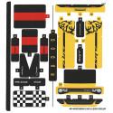 Stickers / Autocollant Lego Speed Champions 75893