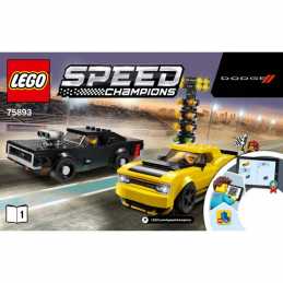 Notice / Instruction Lego Speed Champions 75893