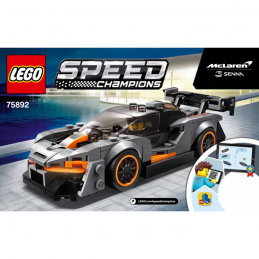 Notice / Instruction Lego Speed Champions 75892