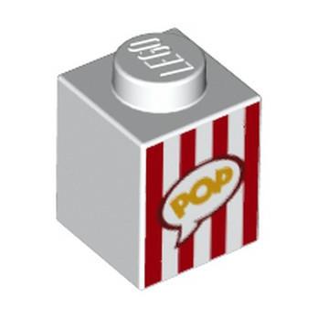 LEGO 6253658 POP CORN 1X1 - IMPRIME