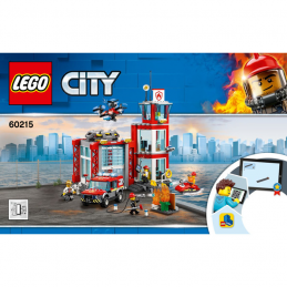 Notice / Instruction Lego  City 60215 notice-instruction-lego-city-60215 ici :