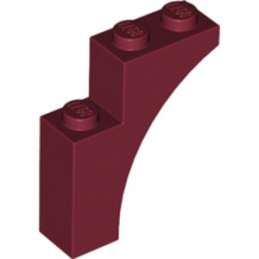 LEGO 6228924 ARCHE 1X3X3 - NEW DARK RED