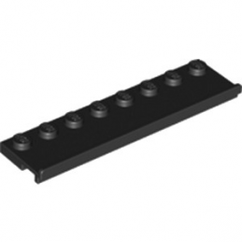 LEGO 6161298 PLATE 2X8 W/GLIDING GROOVE - NOIR lego-6161298-plate-2x8-wgliding-groove-noir ici :