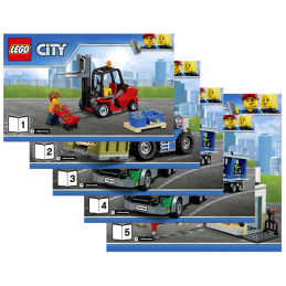 Notice / Instruction Lego City 60169