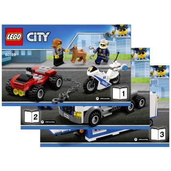 Stickers / Autocollant Lego City 60139