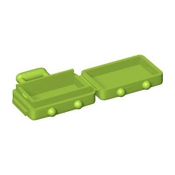 LEGO 6226630 VALISE - BRIGHT YELLOWISH GREEN
