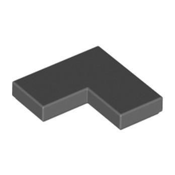 LEGO 6247784 PLATE LISSE ANGLE 1X2X2 - DARK STONE GREY