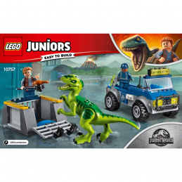 Notice / Instruction Lego Jurassic World 10757