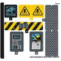 Stickers / Autocollant Lego Jurassic Worl 75927