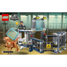 Notice / Instruction Lego  Jurassic World 75927