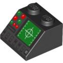 LEGO 4295400 PANNEAU DE CONTROLE - NOIR