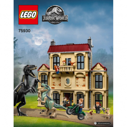 Notice / Instruction Lego  Jurassic World 75930