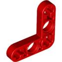 LEGO 6218839 TECHNIC LEVER 3X3M, 90° - ROUGE