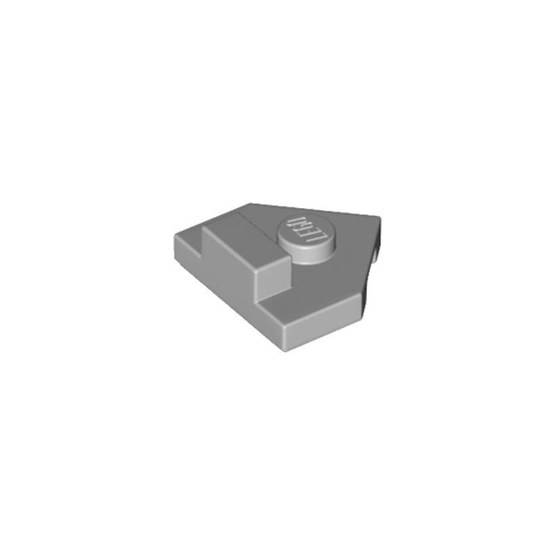LEGO 6217790 PLATE 2X2, W/ DESIGN - MEDIUM STONE GREY
