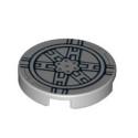 LEGO  6052205 ROND 2X2 IMPRIME STAR WARS