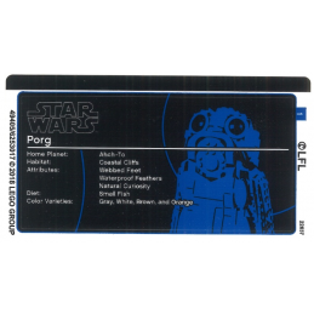 Stickers / Autocollant Lego Star wars 75230