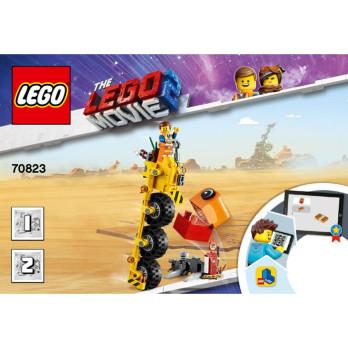 Notice / Instruction Lego The lego Movie  70823
