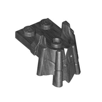 LEGO 6207932 PLATE 2X2 REPOSE TÊTE - TITANIUM METALIC