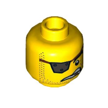 LEGO 6250649 TÊTE PIRATE