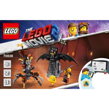 Notice / Instruction Lego The lego Movie  70836