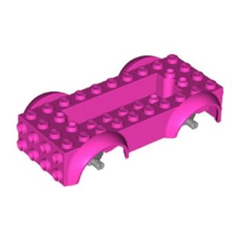 LEGO 6259912 BASE VOITURE - ROSE