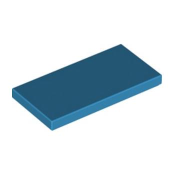 LEGO 6206312 PLATE LISSE 2X4 - DARK AZUR