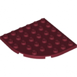 LEGO 6227518 PLATE 6X6 - NEW DARK RED