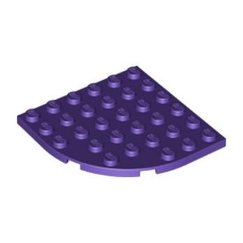 LEGO 6310194 PLATE 6X6 - MEDIUM LILAC
