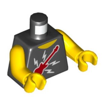 LEGO 6270317 TORSE DEBARDEUR ROCK - NOIR