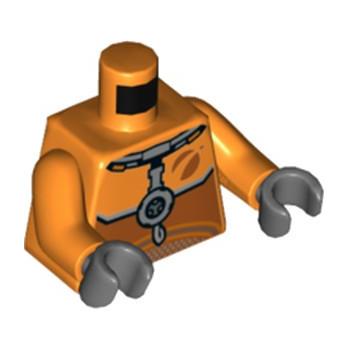LEGO 6265558 TORSE ASTRONAUTE - ORANGE