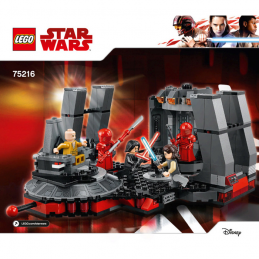 Notice / Instruction Lego Star Wars  75216