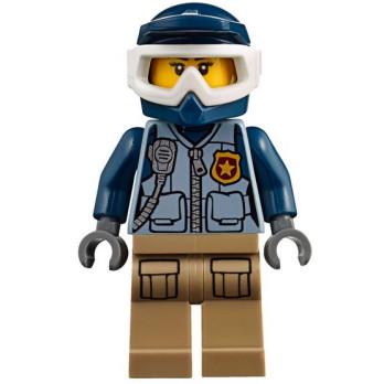 Mini Figurine LEGO® : City - Policière / Motarde