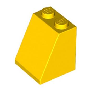LEGO 6261652 TUILE 2X2X2/65 DEG. - JAUNE