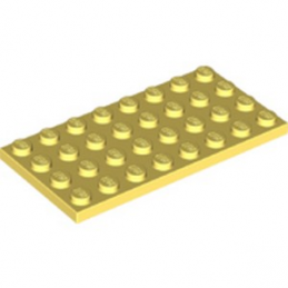 LEGO 6213270 PLATE 4X8 - COOL YELLOW