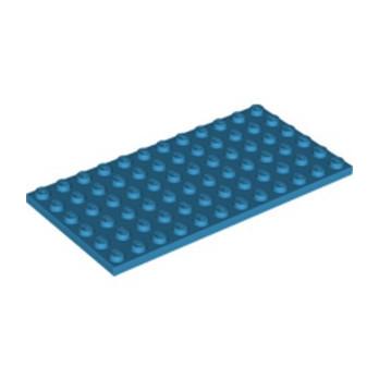 LEGO 6213269 PLATE 6X12 - DARK AZUR