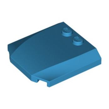 LEGO  6211364 CAPOT 4X4X2/3 - DARK AZUR
